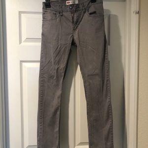 Men's 28x28 Slim grey jeans